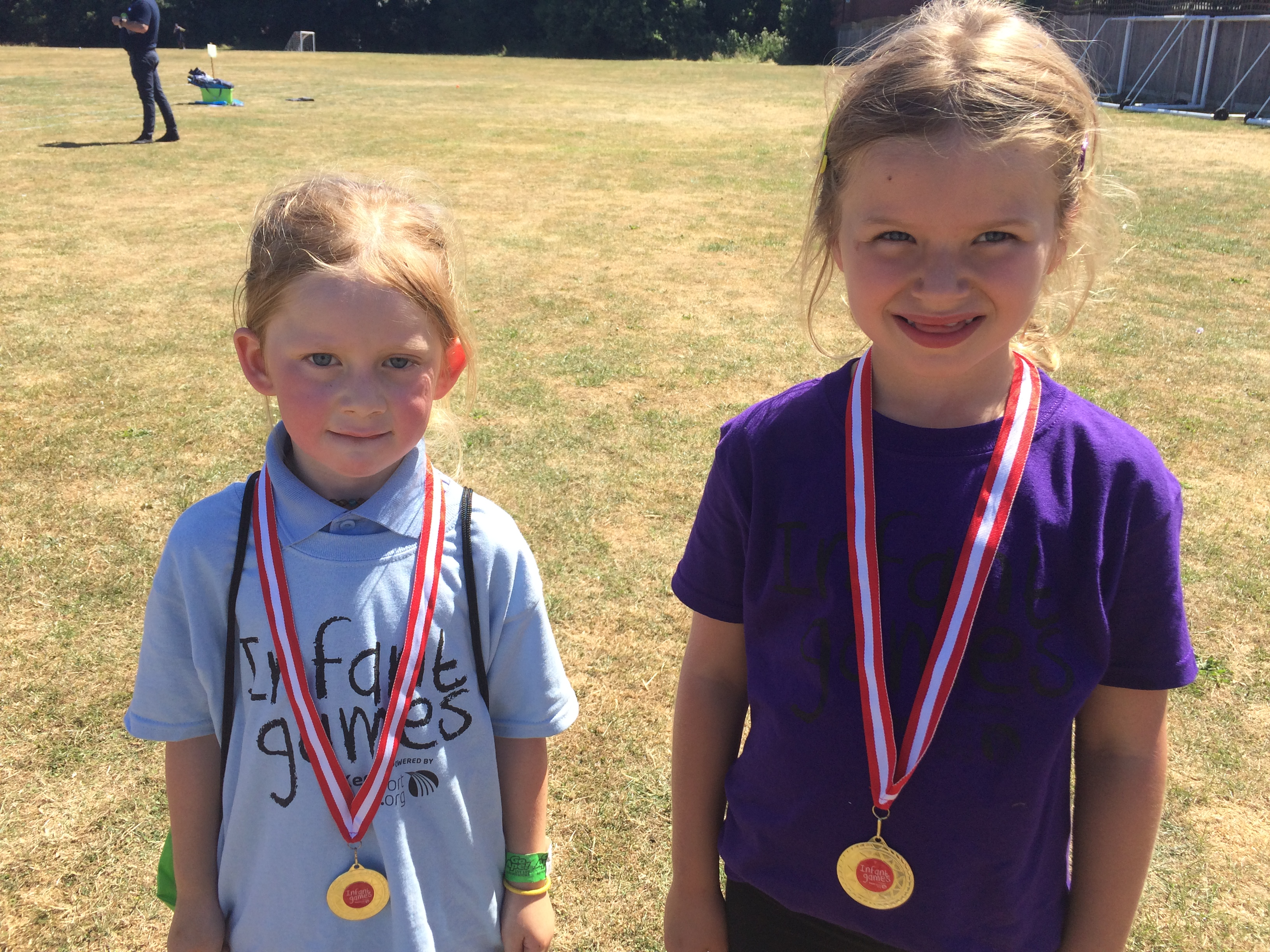 Our sporting values medal winners